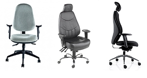 Back care and 24 hour chairs
