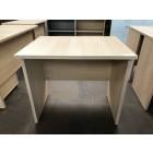 Beckbury 800 x 600 Panel End Desk WHITENED OAK