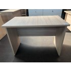Beckbury 1000 x 600 Panel End Desk AMBER OAK