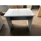 Beckbury 800 x 600 Panel End Desk GREY WOOD