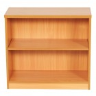 Aston 730 desk high bookcase with 1 shelf