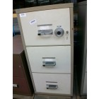 Secondhand Chubb 3d Fire Resistant filing cabinet