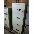 Secondhand 4d Fire Resistant filing cabinet