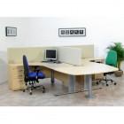 straight desk top screens
