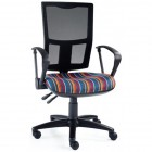 Mesh Back VDU Chair with Arms