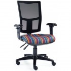 Mesh Back VDU Chair with adjustable Arms